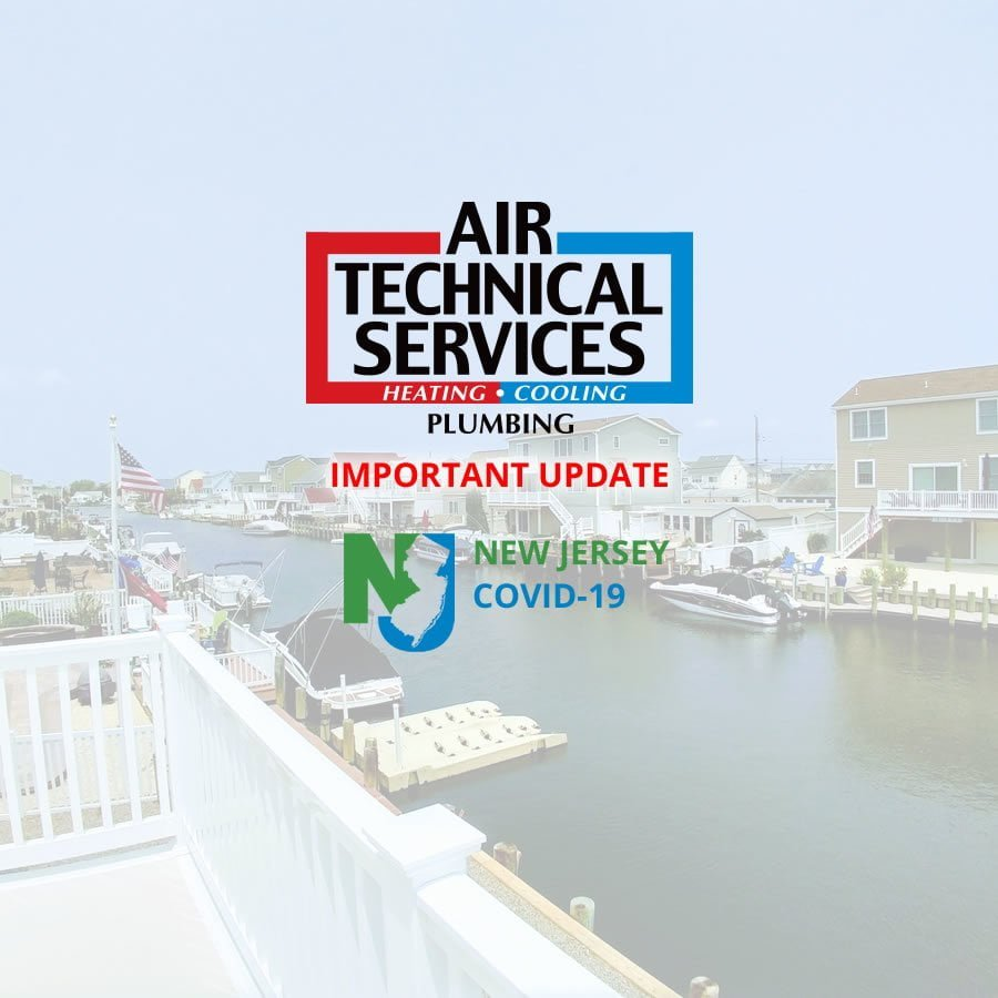 Important Update about NJ COVID-19 Essential Services – HVAC LBI Region