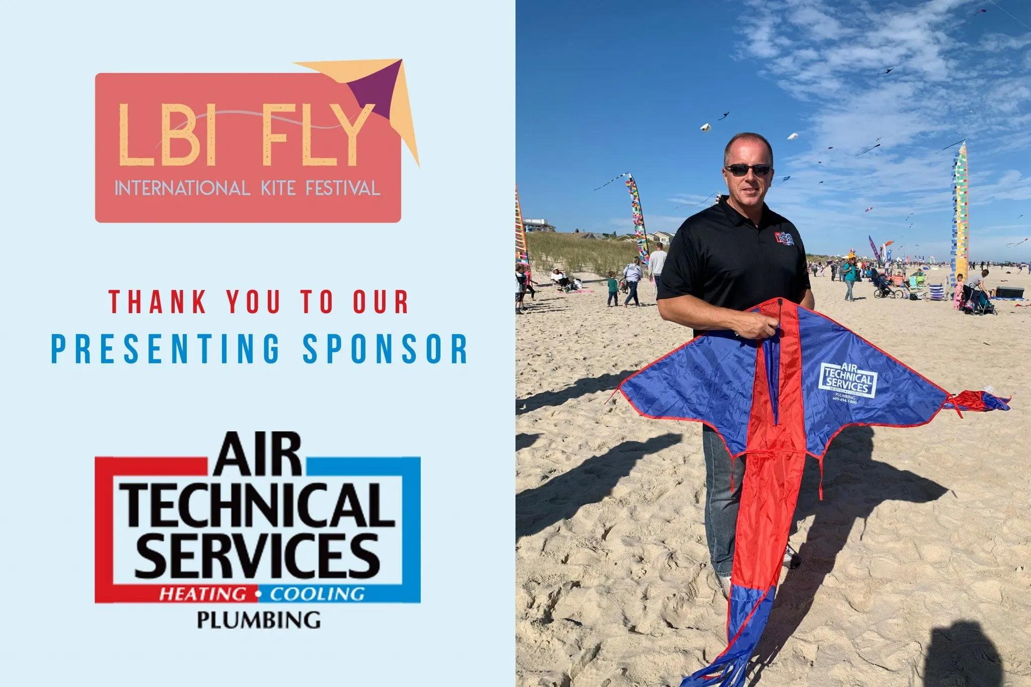 Proud Sponsor of LBI Fly International Kite Festival 2020